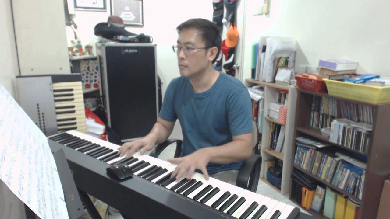TVB Every Step You Take (陪著你走) Theme Song-Angel天使-Myolie Wu - Piano Cover  and Sheet-Hou Yean Cha