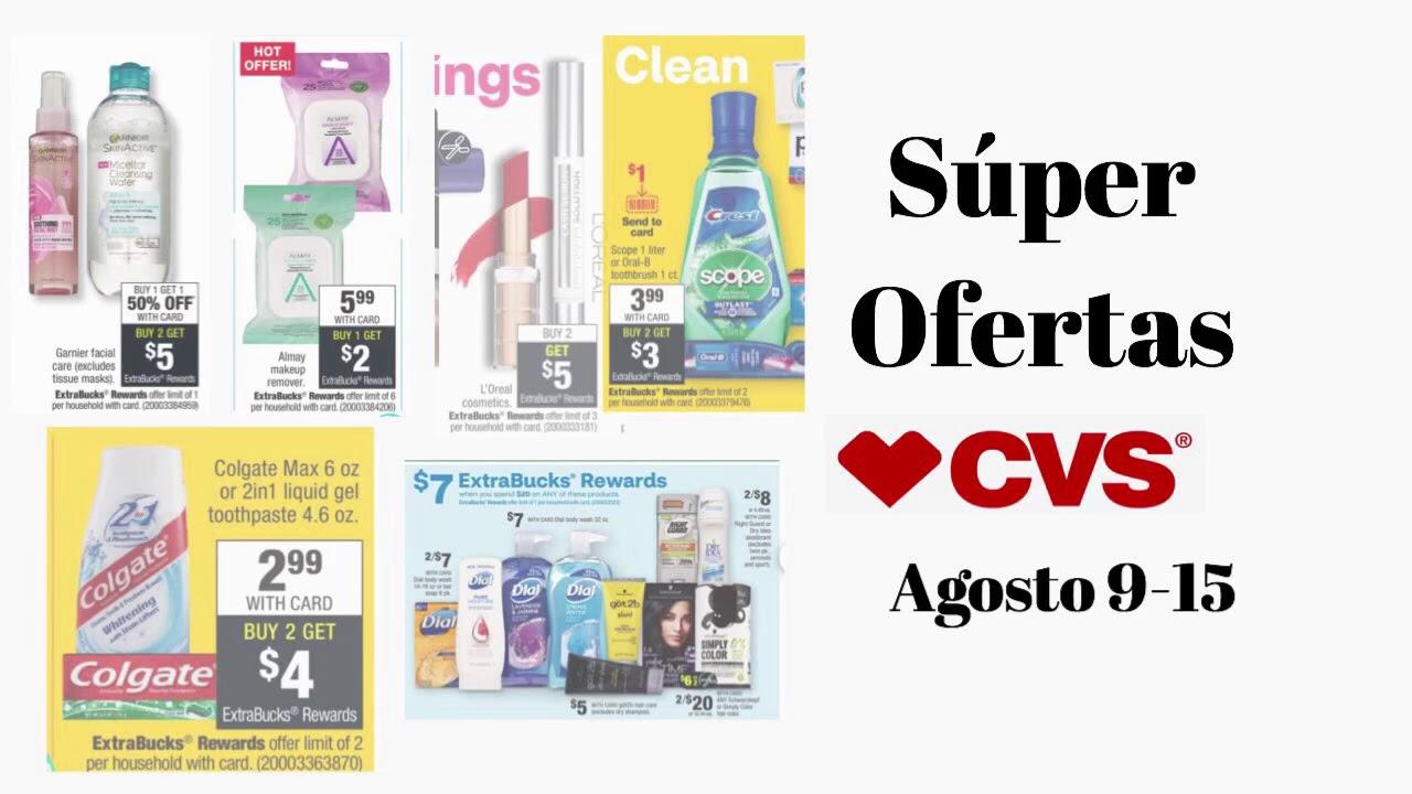 Super Ofertas en CVS solo Digitales || Garnier por $0.19 centavos || Colgate GRATIS y más