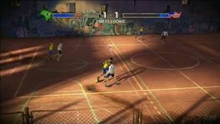 FIFA Street 3 Xbox 360 Video - Brazil vs. USA