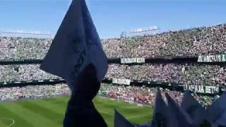 Real Betis vs Sevilla FC - Himno del Real Betis cantado por más de 55.000 almas béticas.