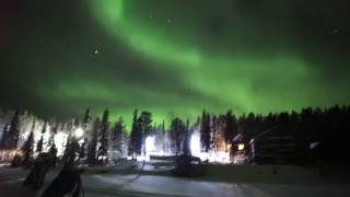 Охота за северным сиянием(Видео от Валентина Жиганова с нашего тура