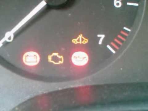 Opel astra f műszerfal jelzések