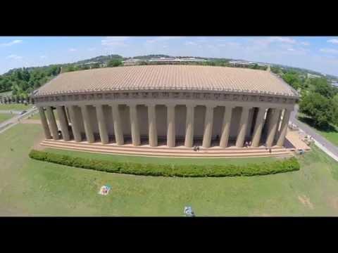 Centennial Park - Nashville, TN (Aerial Footage)