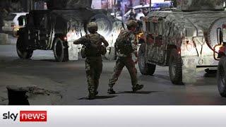 Deadly Taliban strike in Afghan capital Kabul