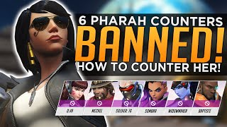Overwatch: 6 Pharah Counters Get BANNED - How to Counter Pharah Guide