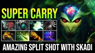 SUPER CARRY [Medusa] Insane AMAZING Split Shot with Skadi Counter Huskar By Timado Dota 2 Highlights