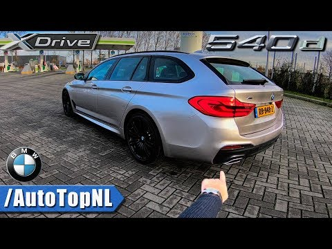 2018 BMW 5 Series Touring REVIEW POV 540d xDrive AUTOBAHN by AutoTopNL