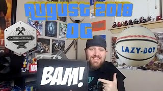 Unboxing The Bam box Aug 2018
