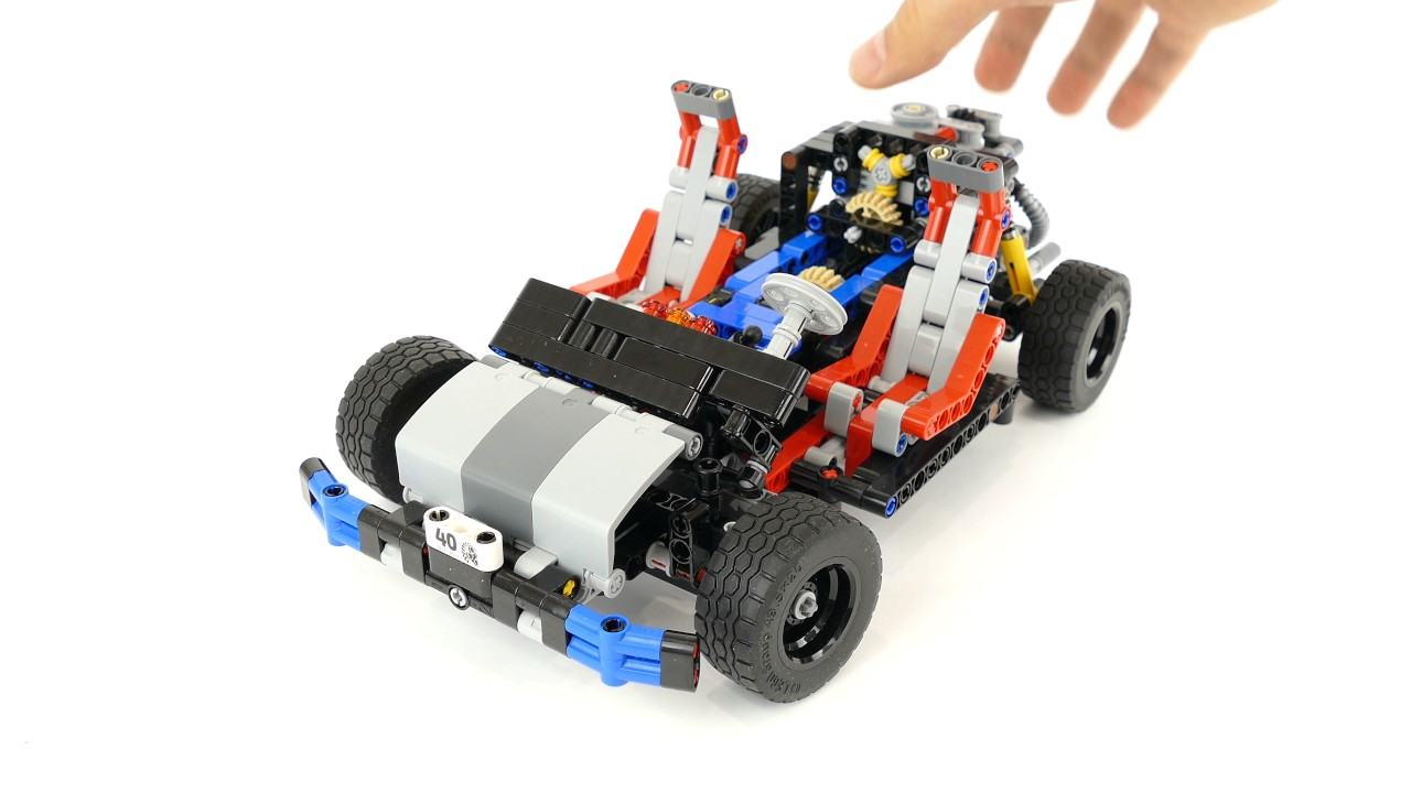 Lego Technic 40th Anniversary Car Chassis 4k Youtube
