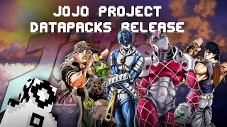 The JoJo's Bizarre Adventure Project Release (1.16.4/1.16.5 datapacks)