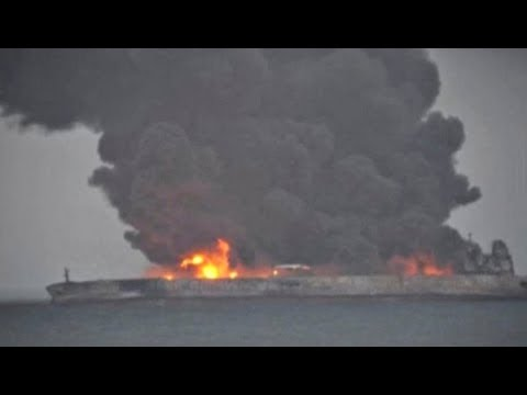 Largest Marine Spill in History of Natural Gas Condensate