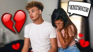 IGNORING MY GIRLFRIEND FOR 24 HOURS! *she cried*