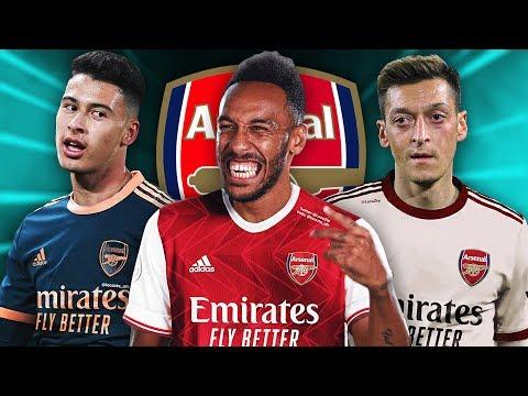 Arsenal 2020 21 Home Away Third Kits Leaked Youtube