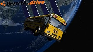 BeamNG.drive - DRIVING IN SPACE