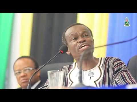 Strong message to Africa's young people from PLO Lumumba's speech in the University of Dar Es Salaam