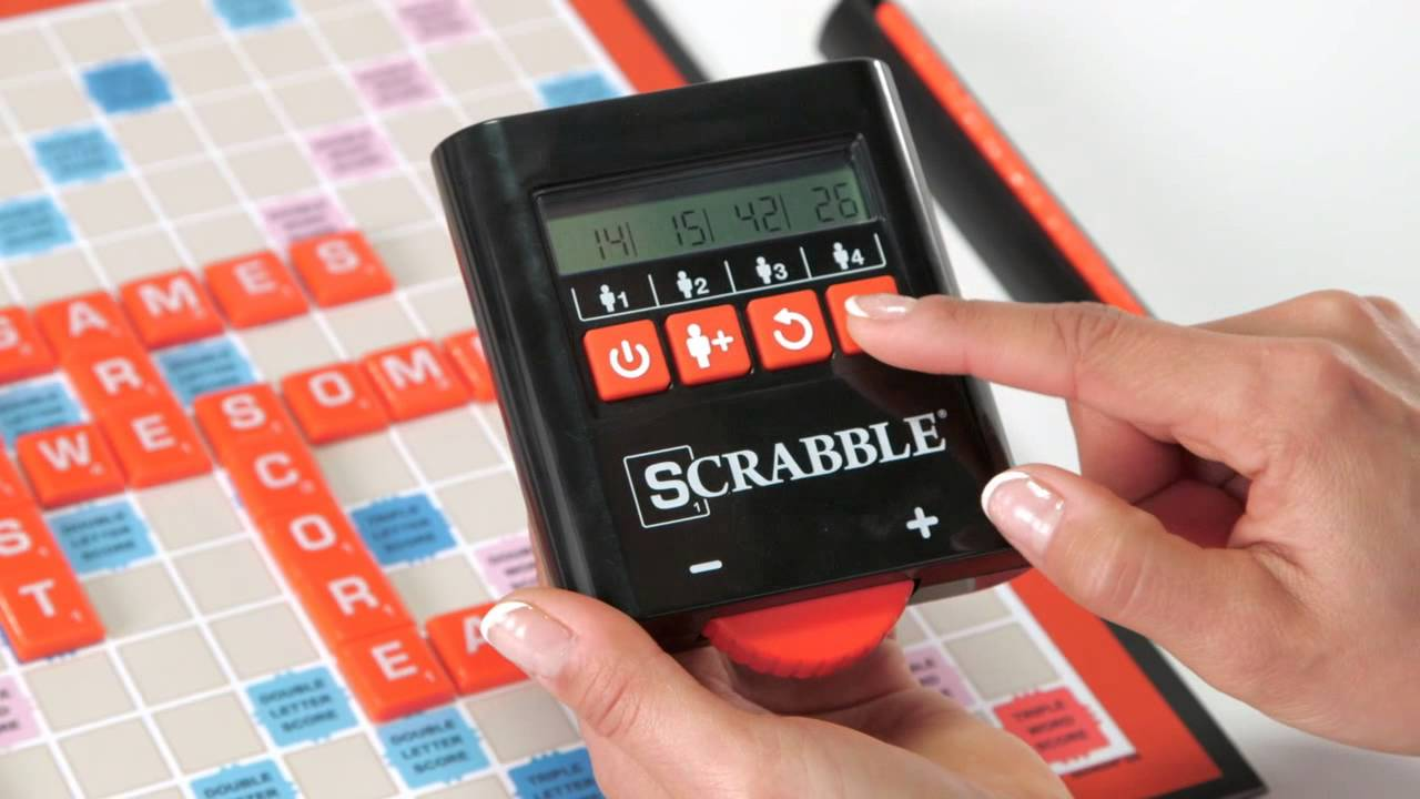 Scrabble Electronic Scoring Youtube