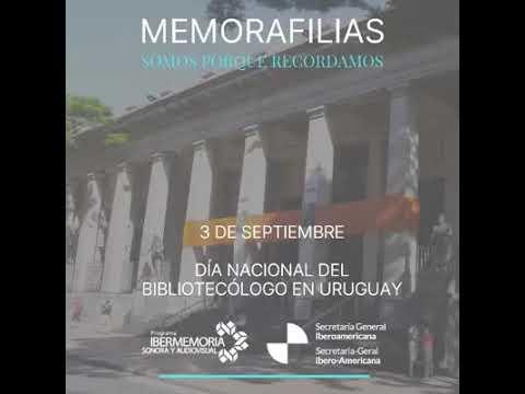 Dia Nacional del Bibliotecólogo en Uruguay