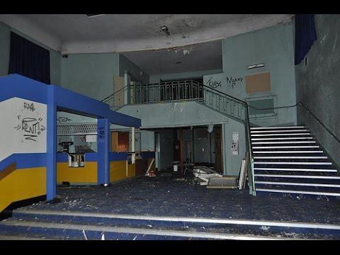 ABANDONED Haunted Cinema! (Found Vault!)