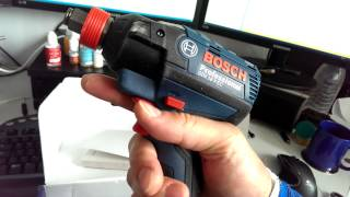 bosch gdx 18 v ec professional cordless impact driver and wrench unbox