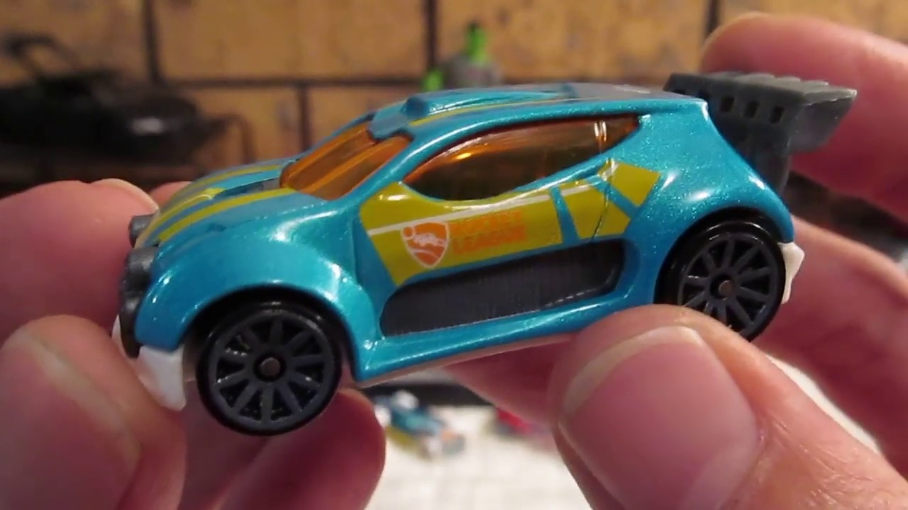 HOT WHEELS ROCKET LEAGUE 5 PACK Unboxing And Review