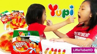 Yupi Gummi Pizza - Yupi Gummy Candies - Ast Fruit Gummy - Little Star gummi
