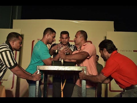 "Arm Wrestling Thrissur District campionship-2018 ""Best ARM Best-Final'"