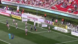 Chivas 1 vs 4 Queretaro y el gol de Ronaldinho