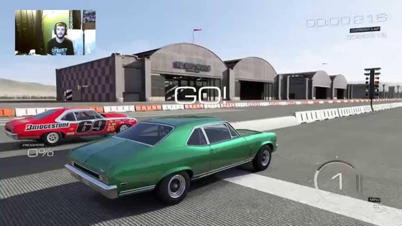 Wheel Standing Door Slammer 69 Nova Ss Drag Car Goes On The Bumper