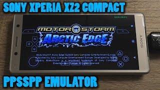 Sony Xperia XZ2 Compact - MotorStorm: Arctic Edge - PPSSPP v1.9.4 - Test