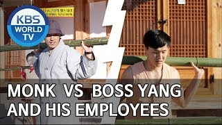 Monk VS Boss Yang and his employees [Boss in the Mirror/ENG/2019.12.15]