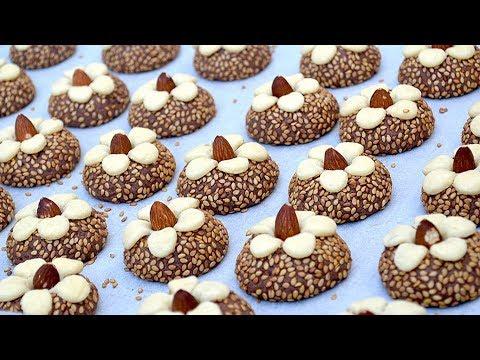 جديد حلوى من أسهل ما يكون بدون بيض بمكونات بسيطة في دقائق