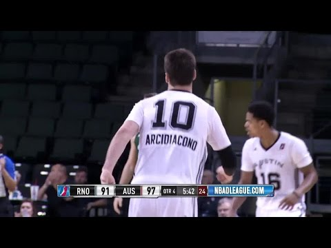 Ryan Arcidiacono Puts Up 12 Points, 5 Assists for Austin Spurs