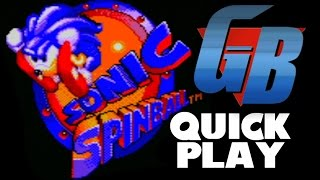 Sonic Spinball (GG) Quick Play [60FPS] (Sonic Month)