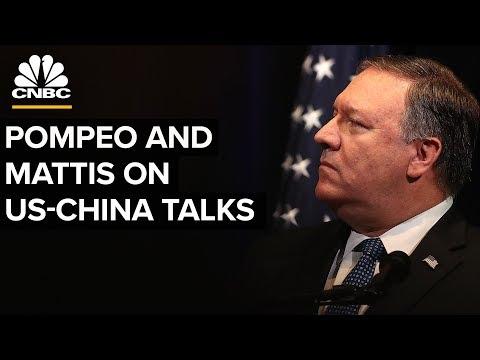 LIVE: Mike Pompeo and James Mattis hold presser on US-China talks - Nov.9, 2018