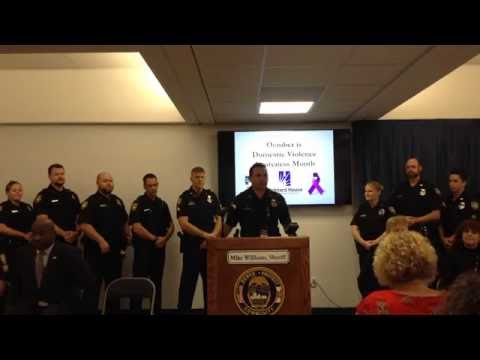 2016 Domestic Violence Awareness News Conference