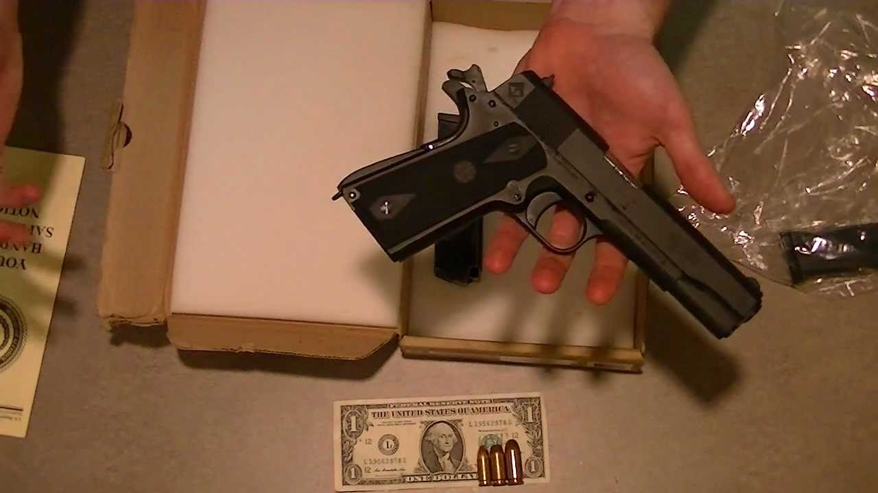 American Tactical Imports 1911 Review Youtube