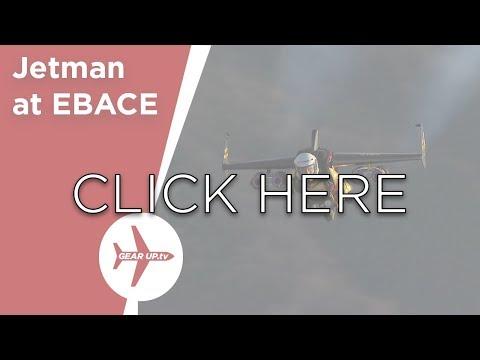 EBACE, Jet Man, Royal Aeronautical Society, SJ30i, Fokker and Airbus