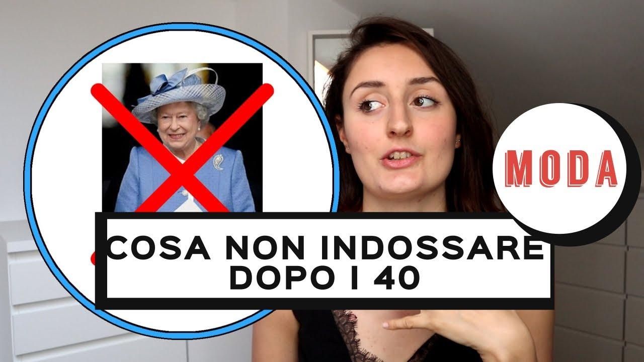 6dafbafe8e2a COME VESTIRSI GIOVANILE DOPO I 40 ANNI  cosa NON INDOSSARE dopo i 40 anni!  😱💥. Alice Cerea