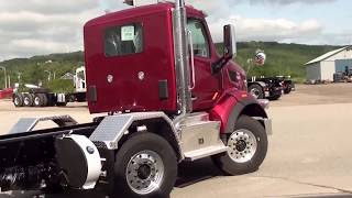 Peterbilt 567 Simard AMS20AL Twin Steer Suspension