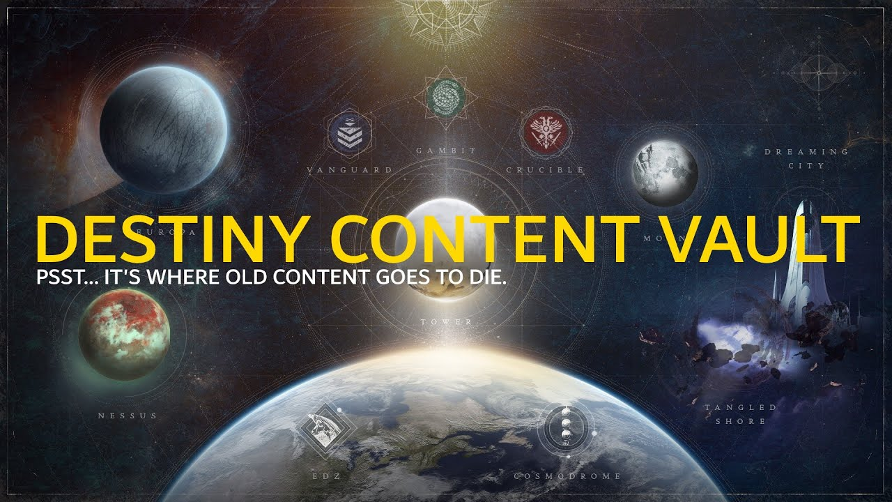Should you be upset over Destiny's Content Vault? Does it really matter? -  YouTube