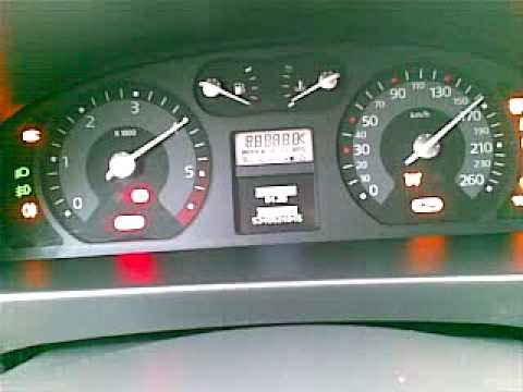Self test Renault Laguna 2