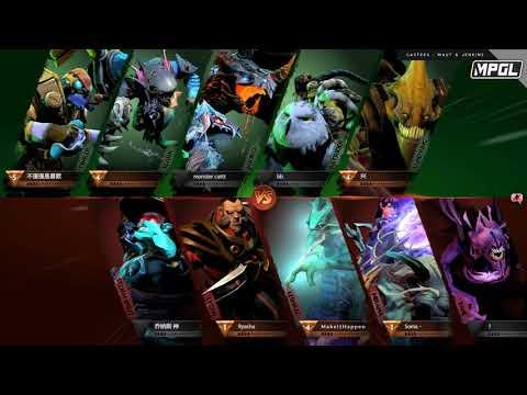 XiT Woundz vs Detonator - MPGL Asian Regular - Game 1