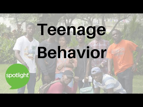 """Teenage Behavior"" - practice English with Spotlight"