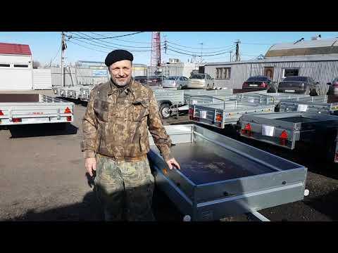 """Прицеп МЗСА 817700.002.как выбрать прицеп в Санкт-Петербурге, видео обзор фирмы """"Прицепчикоф"""""""