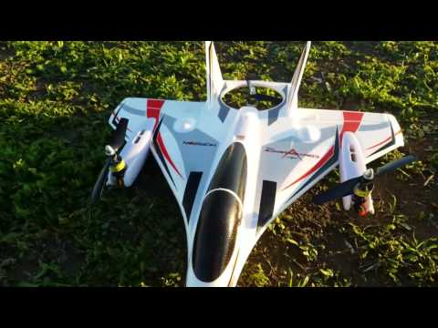 Horizon Hobby Convergence VTOL Maiden Flight on Stu's Channel