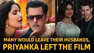 Salman On Priyanka Chopra's Bharat Exit: Many Would Leave Their Husbands, Priyanka Left The Film