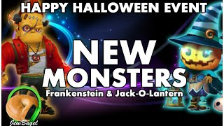 SUMMONERS WAR : NEW Halloween Monsters! - Frankenstein & Jack-O-Lantern