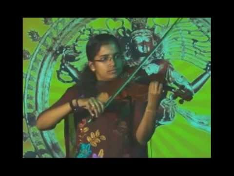Malare Ninne Violin by Haripriya (Grand daughter of violinist P Chidambaranath)