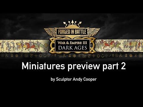War & Empire III miniatures preview 2