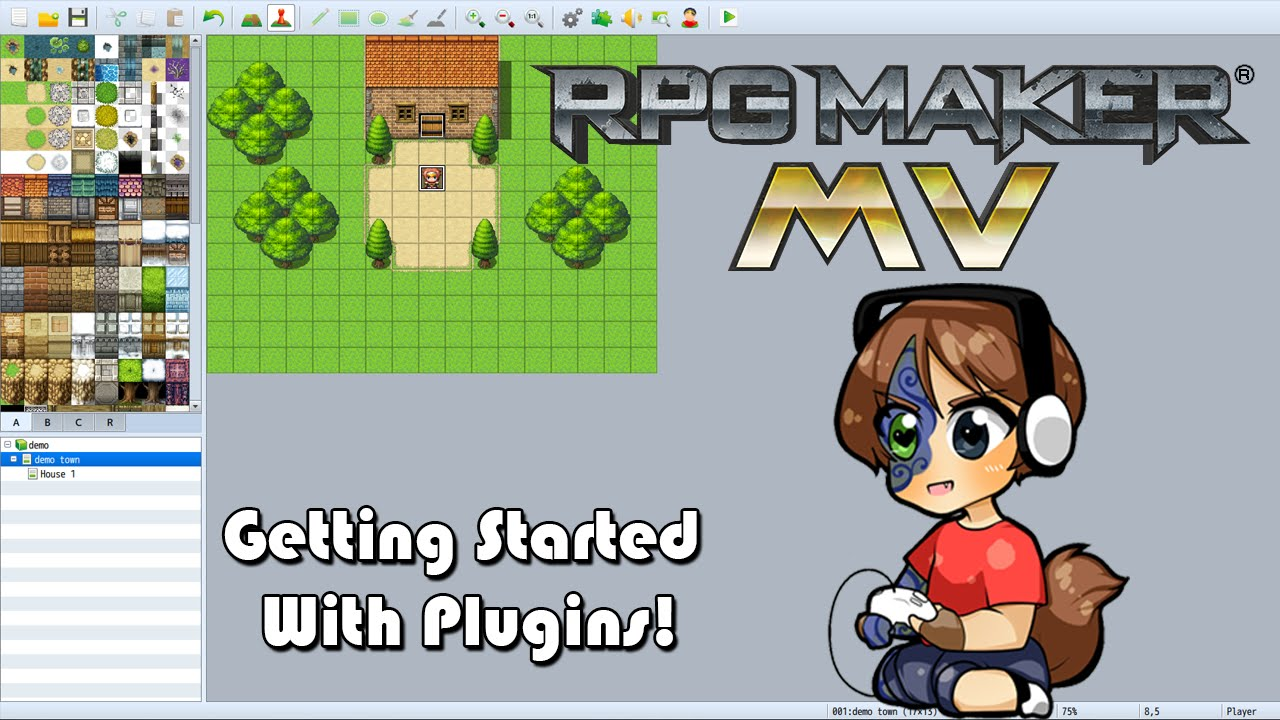 how to add plugins to rpg maker mv